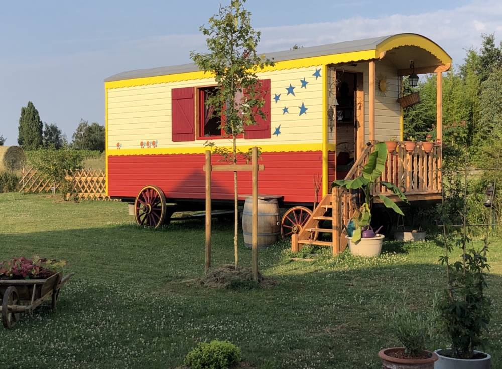 Roulotte ( tiny house) Maine et Loire (49)
